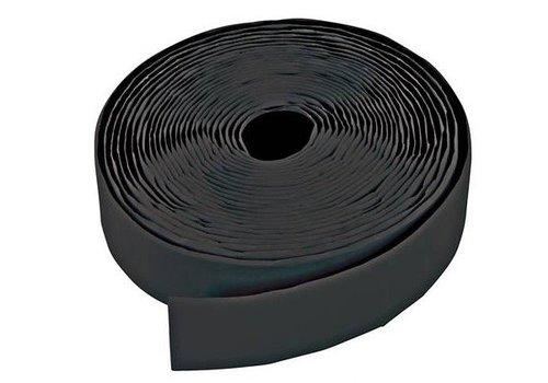 FIXMAN Zwarte klittenband rollen, zelfklevend, 2 pk.