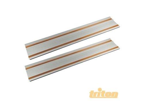 Triton TTSTP rails set en verbindingsstukken, 2 x 700 mm
