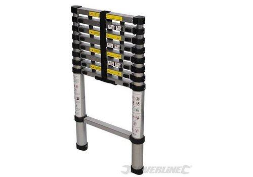 Silverline Telescopische ladder, 2,6 m 150kg
