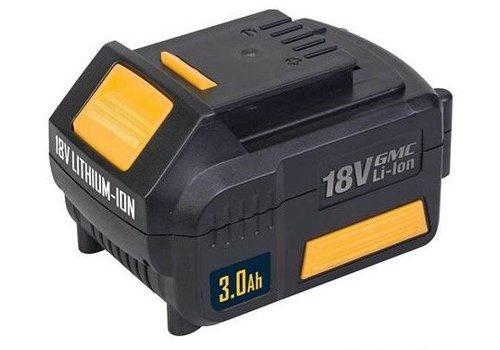 GMC 3 Ah, 18 V Li-ion Hi-Cap accu
