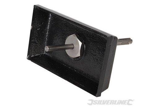 Silverline Dubbele vierkante gatenboor
