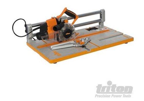 Triton 910 W cirkelzaag voor houten vloeren, 127 mm