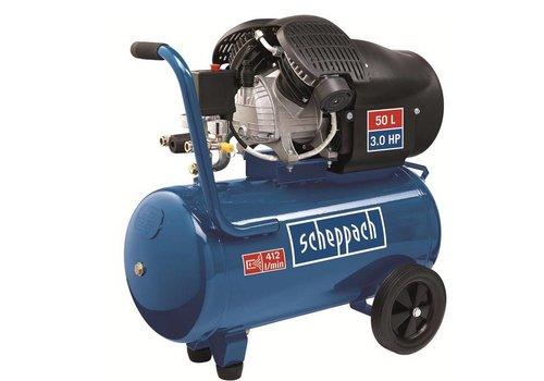 Scheppach 50 L Dubbele Cylinder Compressor HC52DC