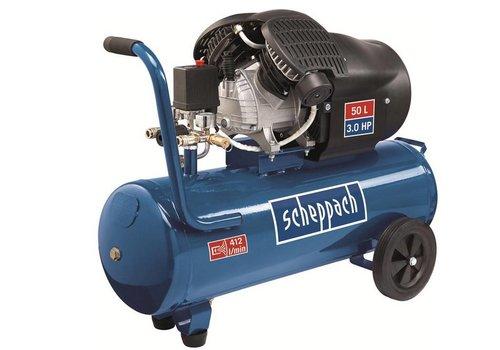 Scheppach 50 L Dubbele Cylinder CompressorHC53DC