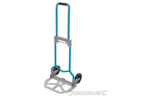 Silverline Stalen opvouwbare hand steekwagen 60 kg