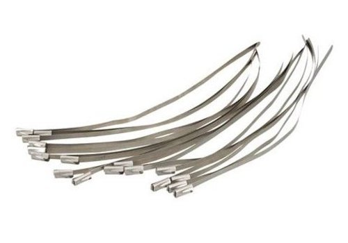FIXMAN RVS kabelbinders, 50 pk.
