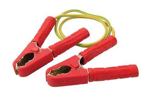Silverline Krokodillenklemmen met kabel