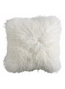 Nordal Housse de coussin de siège en peau d'agneau Tibet - blanc - Nordal