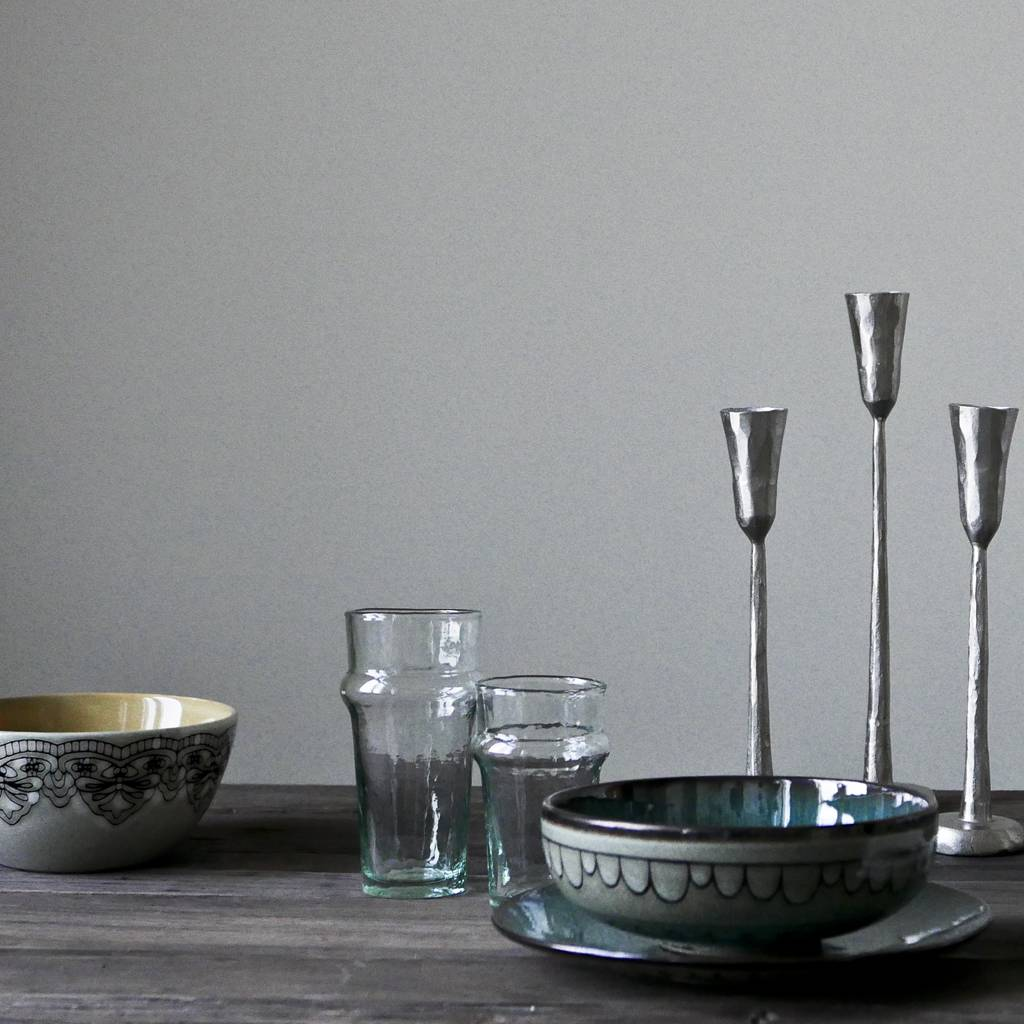 Tell me more set of 3 iron candle holders - Tell Me More
