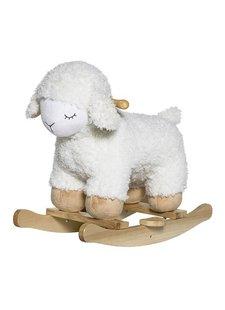 Bloomingville Mouton à bascule - blanc - Bloomingville