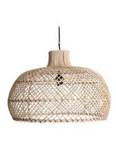 Oneworld Interiors Rattan pendant lamp - naturel - Ø56cm