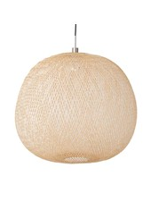 Ay Illuminate Bamboo Pendant Lamp PLUME mini - Naturel - Ø38 cm - Ay illuminate