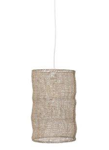 Bloomingville Lámpara de suspensión de jute - natural - Ø27xH45cm - Bloomingville