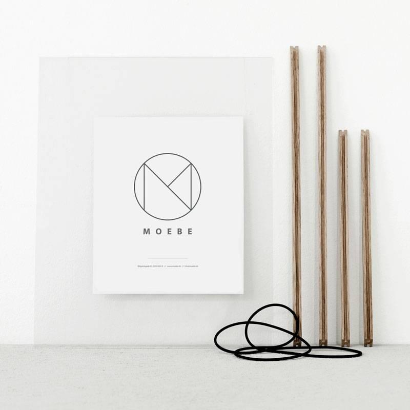 Moebe Cadre en bois de chêne - A5 - MOEBE