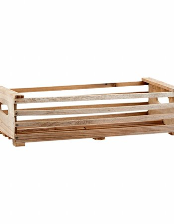 House Doctor caja de fruta de madera para decorar - 18xh4,8 - House Doctor