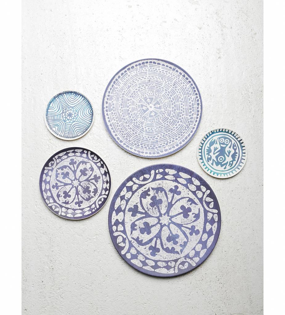 Urban Nature Culture - UNC Plato azulejo Europeo - Ø18cm - UNC