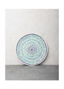Urban Nature Culture - UNC bamboo plate Mandala Duo - Ø21cm - UNC