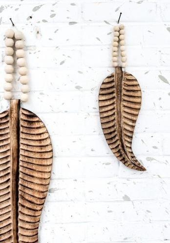 MaduMadu Wall hanging Feather Mala Mini - 30x12cm - MaduMadu