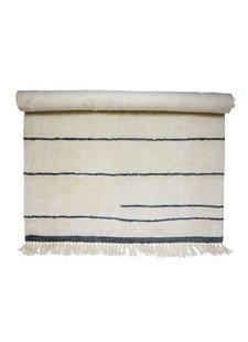 Bloomingville Wool Rug - White - L200xW140cm - Bloomingville