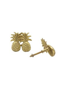 Doing Goods Pineapple doorknob - Gold shiny - Doing Goods