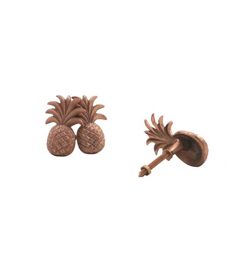 Doing Goods Pineapple doorknob - Copper shiny - Doing Goods