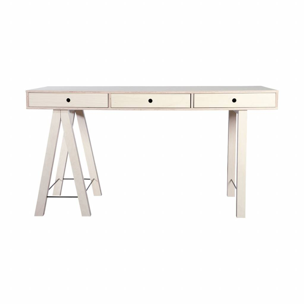 House Doctor Scandinavian desk 'Mix' - 150Xh76cm - natural - House Doctor