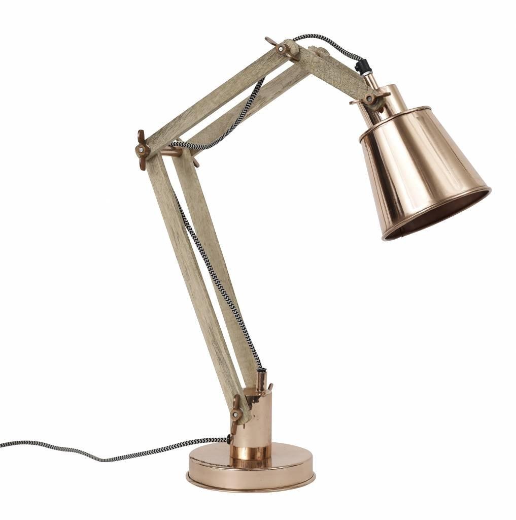 Nordal industrial desk lamp - Copper - Nordal