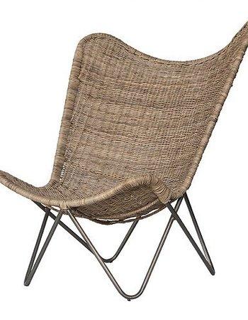 "Uniqwa Furniture  ""Tobago"" butterfly armchair - 84x83xh97cm - Uniqwa"