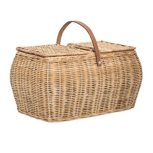 Bloomingville Picnic basket - 44x26x26 cm - Bloomingville