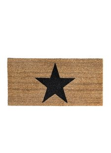 "Bloomingville Doormat coconut ""Star"" - Bloomingville"