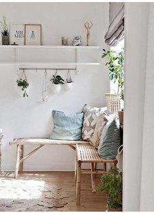 Un appartement frais et ensoleillé à Malmo. Vu sur my scandinavian home.
