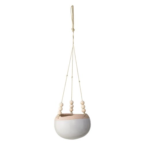 Bloomingville Hanging flower pot - grey - Ø16,5 - Bloomingville