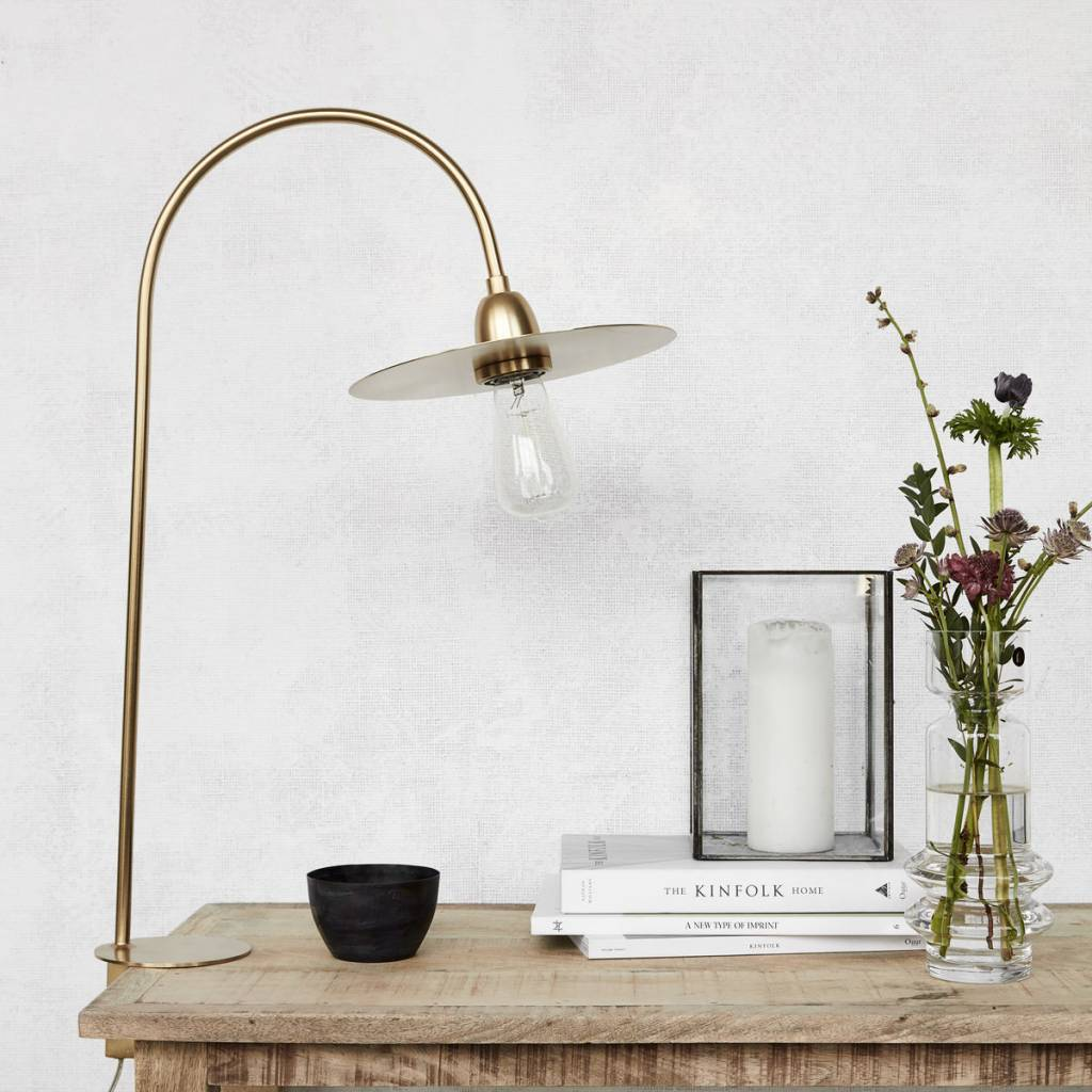 House Doctor Table lamp glow - Brass finish - h78.7cm - House Doctor