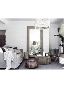An ethnic and natural mix in the Australian hotel Byron Bay.
