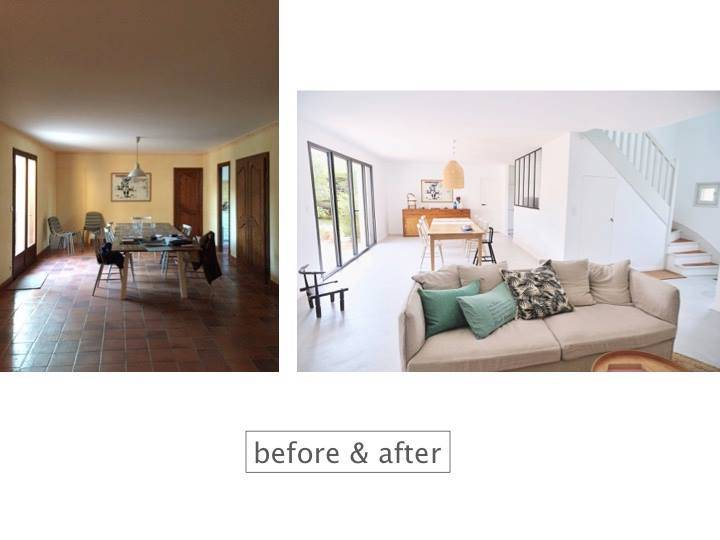 Check out this impressive Before and After styling by our client into interior design!