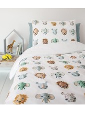 Duvet Cover Zoo - Blue - 140x200cm - Studio Ditte