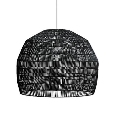 Ay Illuminate Black rattan Nama3 suspension Ø72cm - Ay Illuminate