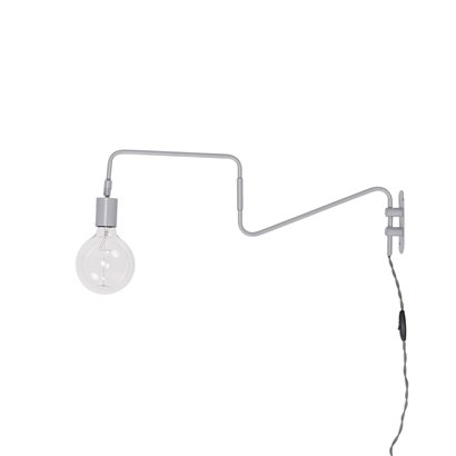 Bloomingville wall lamp - grey - 80xh30cm - Bloomingville