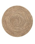 Bloomingville Tapis rond laine - naturel - Ø120cm - Bloomingville