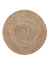 Bloomingville Round rug wool - natural - Ø120cm - Bloomingville