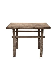 Console table Vintage - 102x45xh81cm - unique product - elm wood