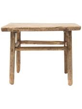 Table basse naturelle - 60x60x50cm - Bois d'orme