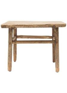Snowdrops Copenhagen Natural coffee table - elm wood - 60x60x50cm