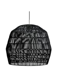 Ay Illuminate Black rattan Nama2 suspension Ø58cm - Ay Illuminate