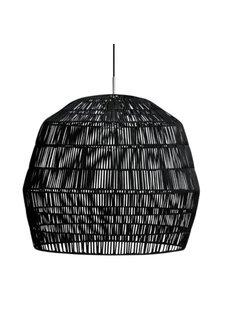Ay Illuminate Lámpara de ratán - negro - Nama2 - Ø58cm - Ay Illuminate