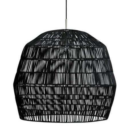 Ay Illuminate Black rattan Nama2 suspension Ø58cm - Ay Illuminate