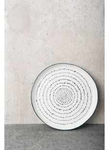 Urban Nature Culture - UNC Plate Kuba art - Ø22,5cm - UNC
