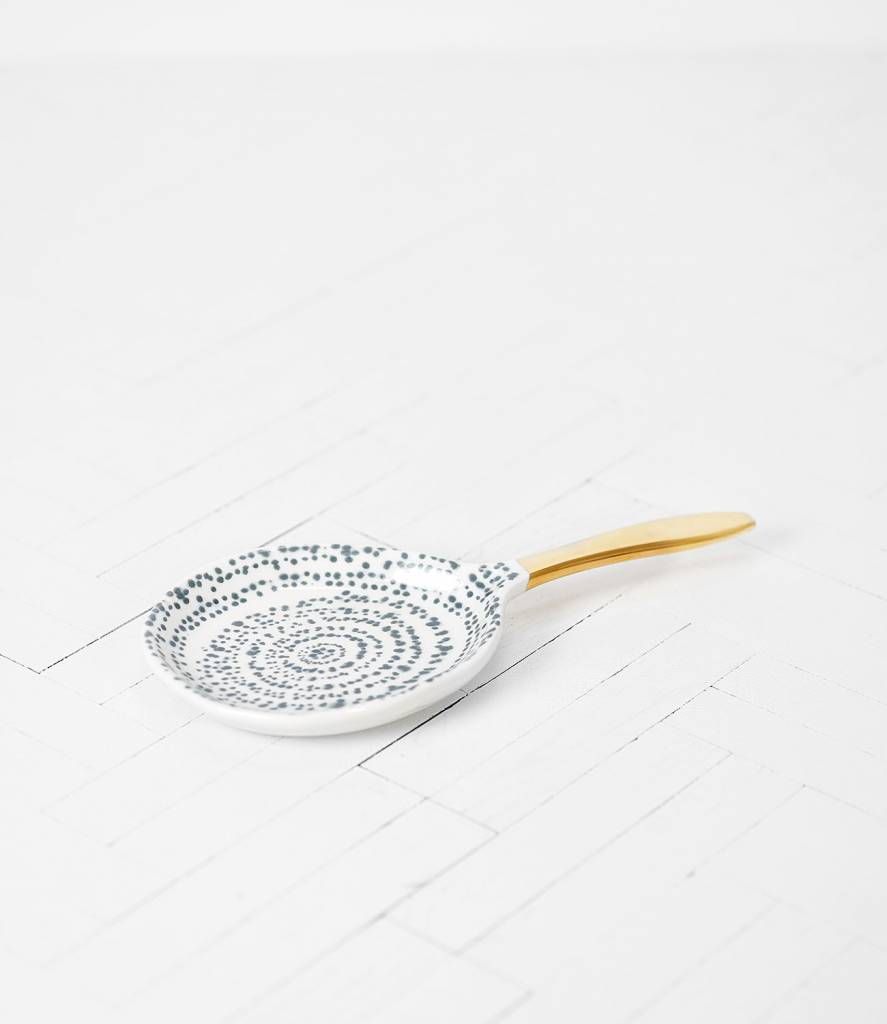 Urban Nature Culture - UNC Spoon Kuba art L - Ø19,5cm - Porcelain - UNC