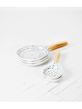 Urban Nature Culture - UNC Spoon Kuba art M - Ø16cm - Porcelain - UNC