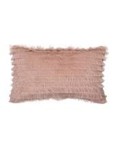 Bloomingville Cojín - 100% algodón - Rosa - 50x30 - Bloomingville